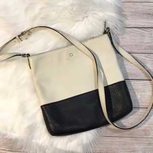 Kate Spade Crossbody bag ivory & black